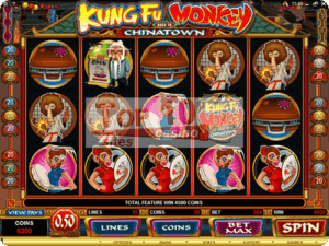 Kung Fu Monkey - Slot Game