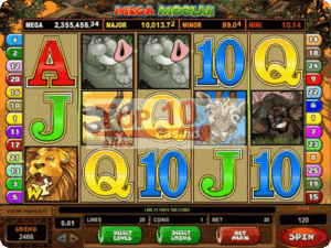 Mega Moolah Progressive - Slot Game