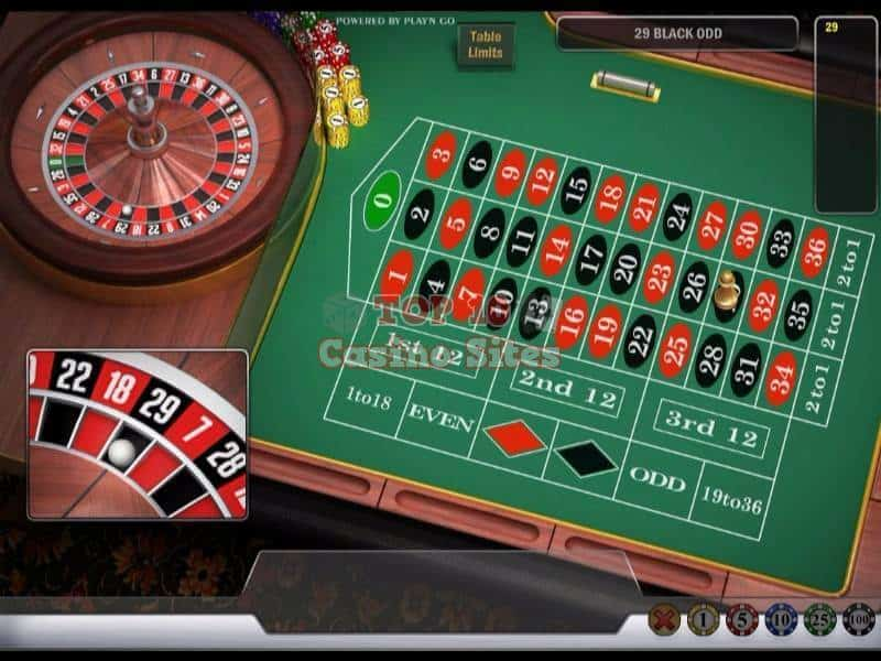 CasinoCruise Roulette