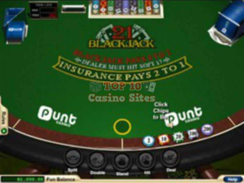 Punt Casino Blackjack