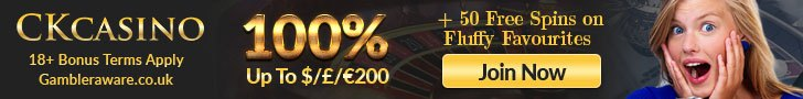 CkCasino Welcome Bonus