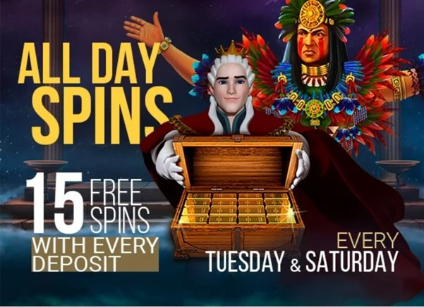 King Billy Casino All Day Spins