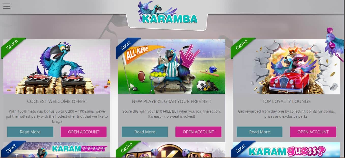 Karamba Casino Promotions