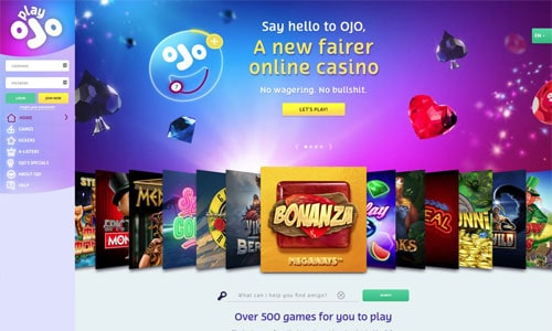 playojo casino games