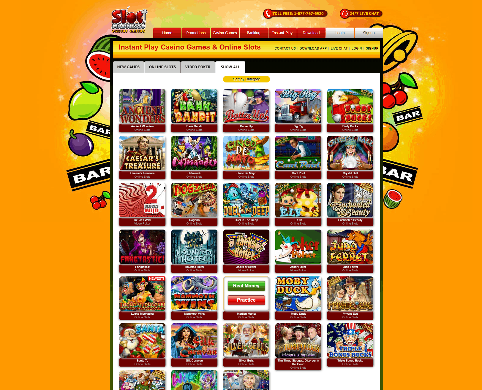 Slots Madness Games
