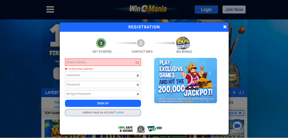 Winomania registration