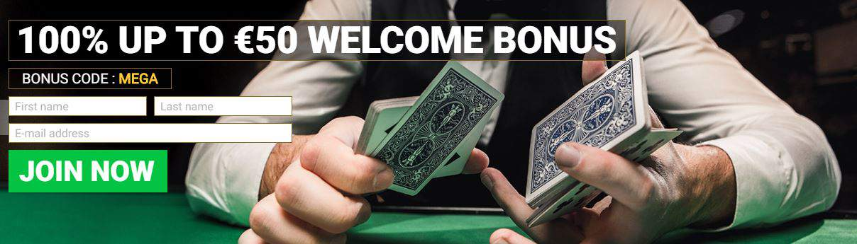 Mega Casino Welcome Bonus