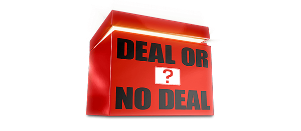A picture of the Deal or No Deal logo