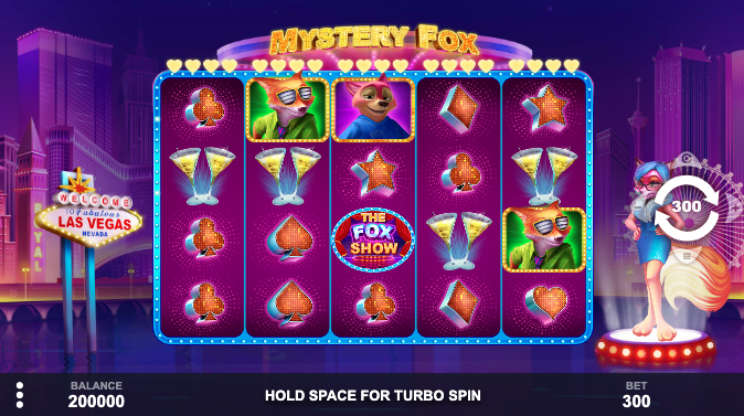 An image of the Mystery Fox slot game