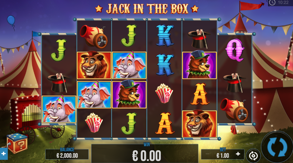 An image of the Jack in the Box Slot Game